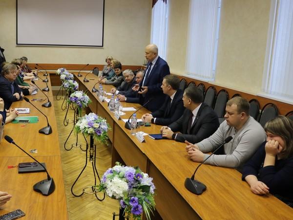 Виктор Бабурин встретился с партийными активистами Ферзиковского района